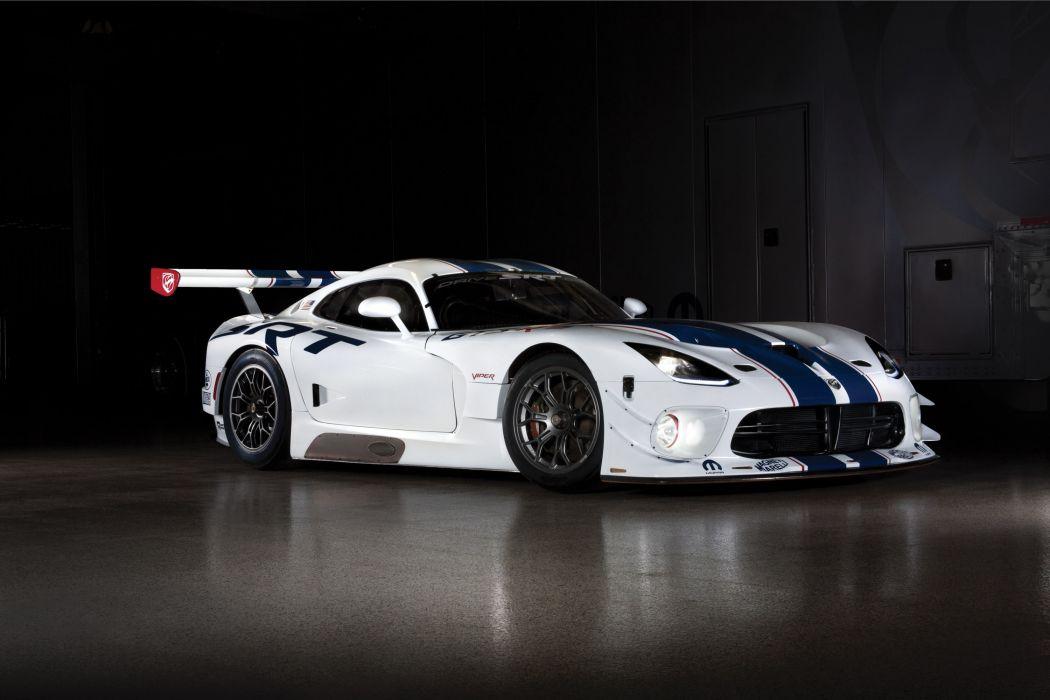 2014 Dodge SRT Viper GT3-R supercar supercars muscle wallpaper