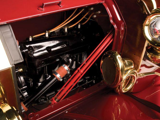 1909 Ford Model-T Landaulet retro engine engines wallpaper