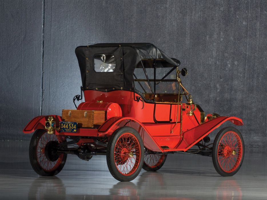 1911 Ford Model-T Torpedo Runabout retro g wallpaper