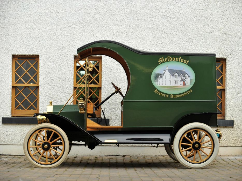 1912 Ford Model-T Delivery retro truck transport cargo    g wallpaper