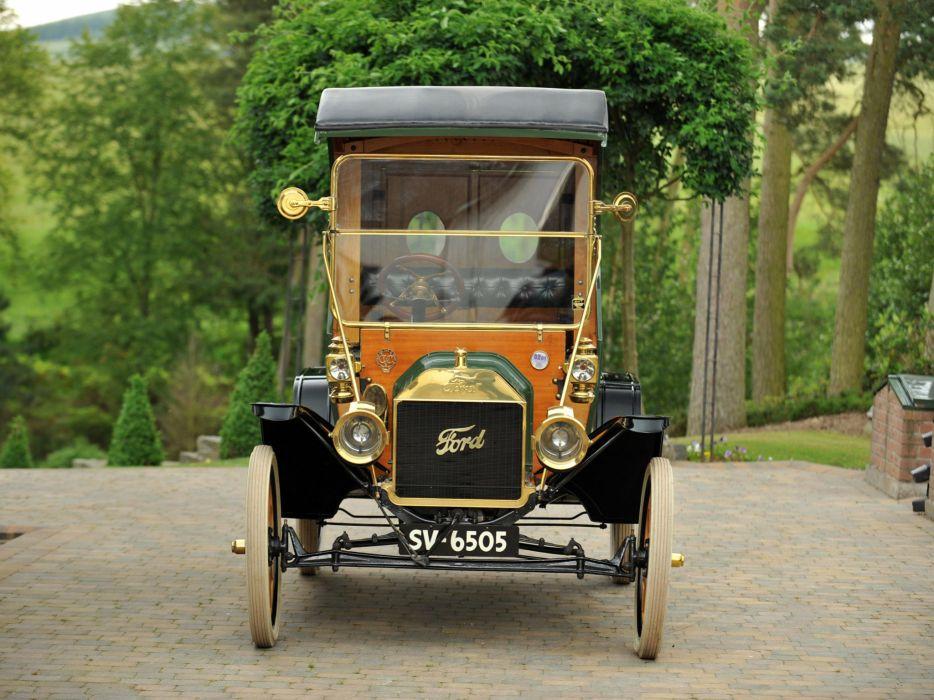 1912 Ford Model-T Delivery retro truck transport cargo   f wallpaper