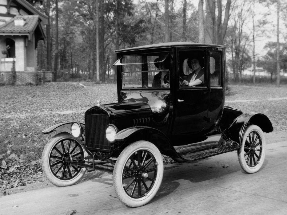 1920 Ford Model-T Coupe retro wallpaper