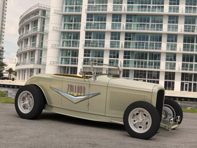 1929 Ford Roadster retro hot rod rods f wallpaper