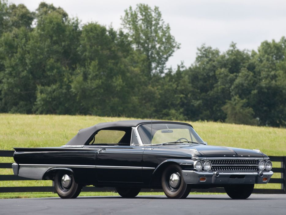 1961 Ford Galaxie X-L 401 Sunliner Convertible classic muscle wallpaper