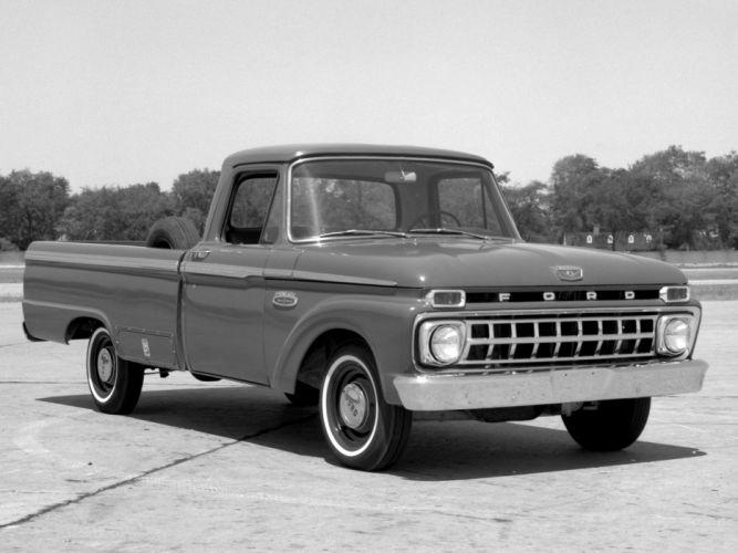 1965 Ford F-100 truck classic wallpaper