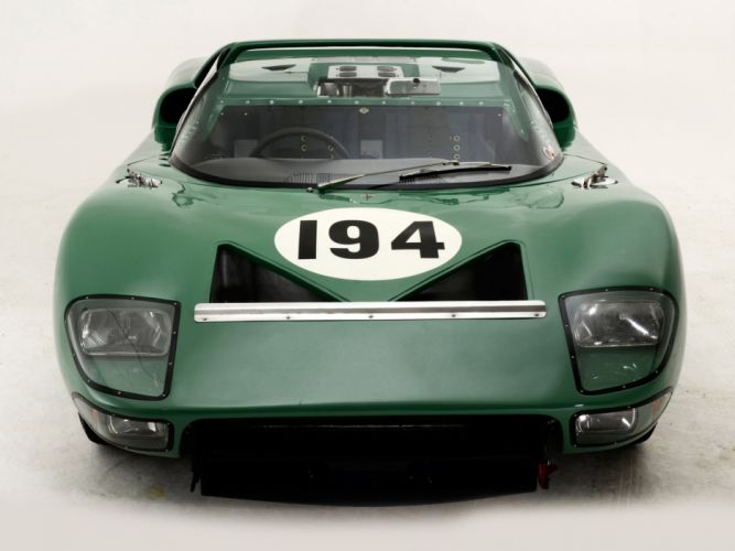 1965 Ford GT40 Prototype Roadster classic supercar supercars race racing g wallpaper