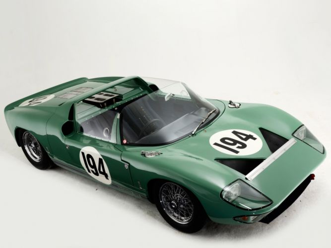 1965 Ford GT40 Prototype Roadster classic supercar supercars race racing f wallpaper