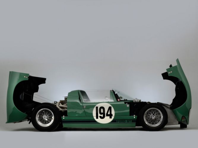 1965 Ford GT40 Prototype Roadster classic supercar supercars race racing engine engines interior wallpaper