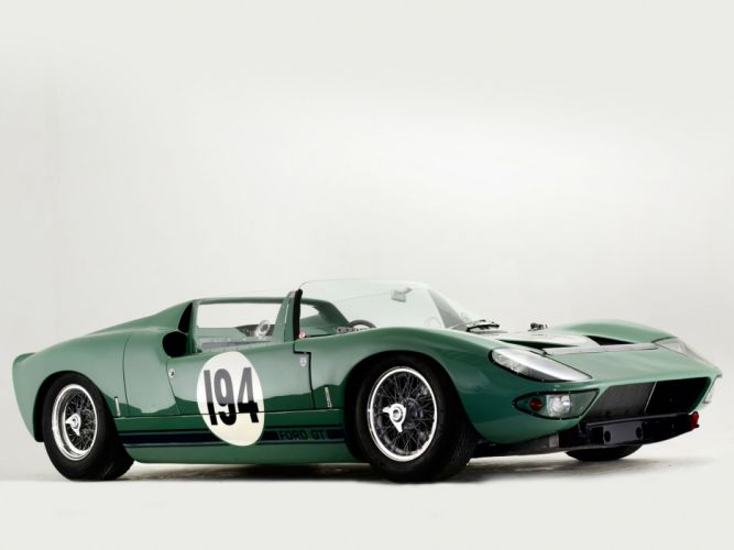1965 Ford GT40 Prototype Roadster classic supercar supercars race racing wallpaper