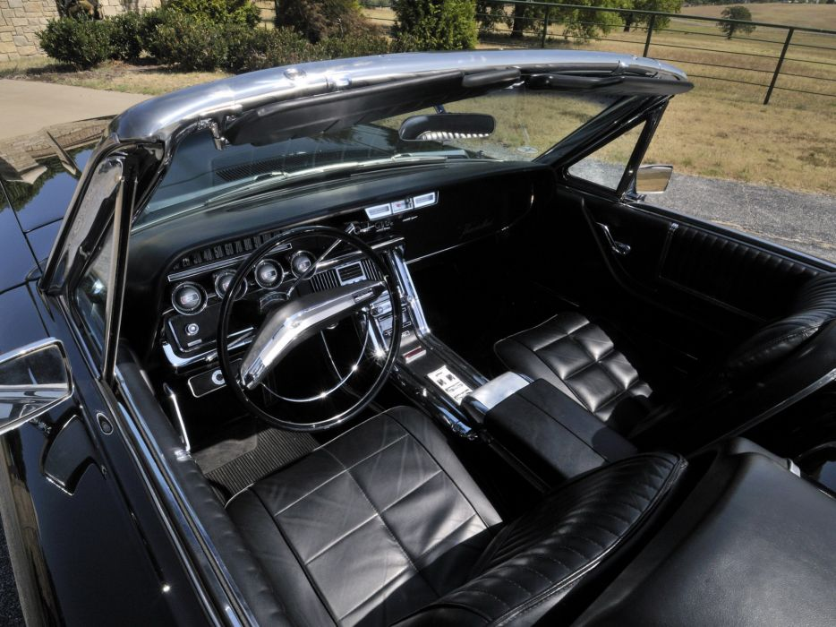 1966 Ford Thunderbird Convertible 76a Classic Luxury Interior