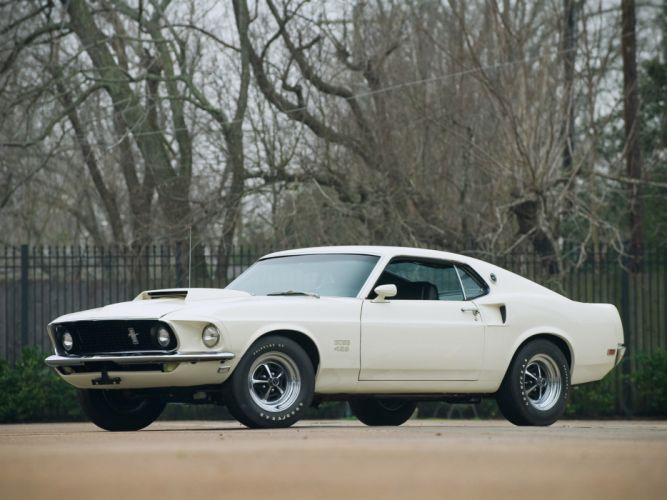 1969 Ford Mustang Boss 429 classic muscle d wallpaper