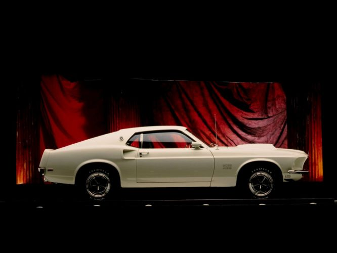 1969 Ford Mustang Boss 429 classic muscle f wallpaper
