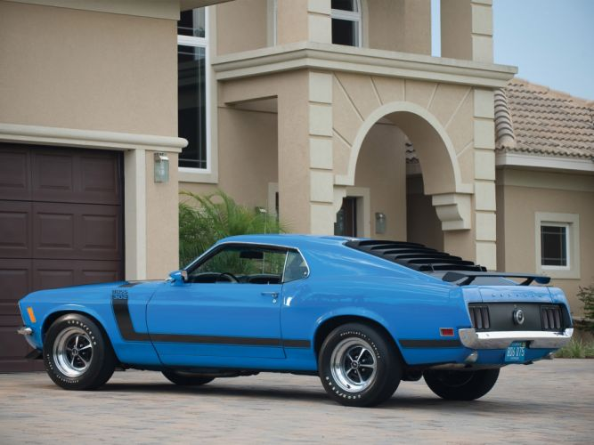 1970 Ford Mustang Boss 302 classic muscle d wallpaper