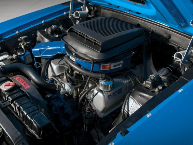 1970 Ford Mustang Boss 302 classic muscle engine engines d wallpaper