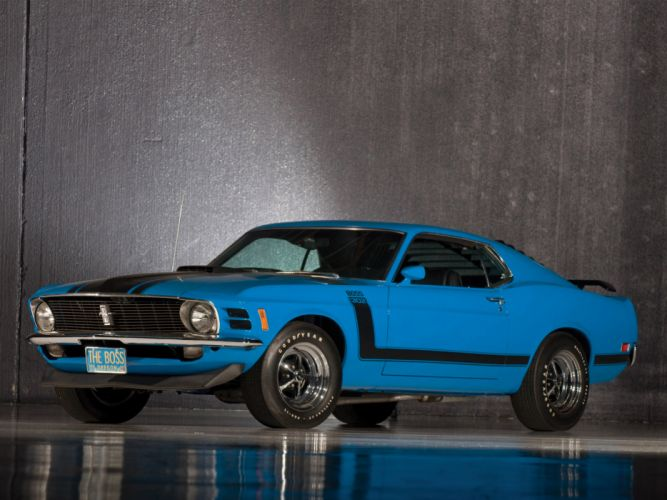 1970 Ford Mustang Boss 302 classic muscle wallpaper