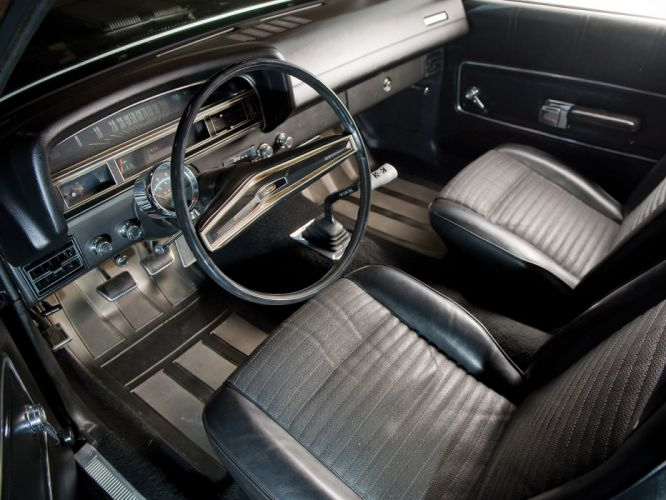 1970 Ford Ranchero G-T classic muscle truck interior wallpaper