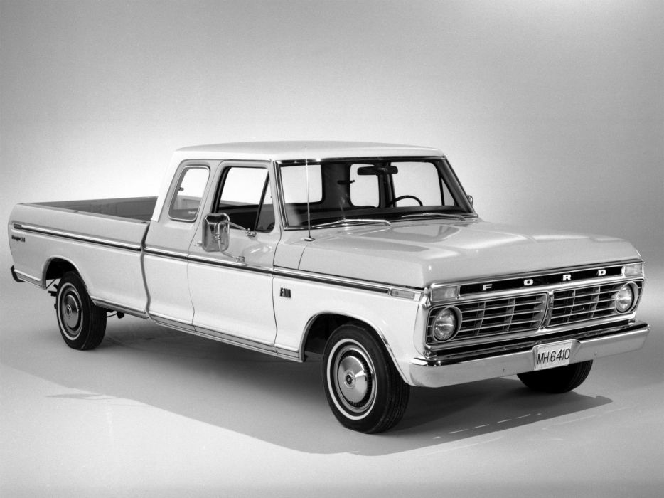 1974 Ford F-100 Ranger XLT SuperCab truck wallpaper
