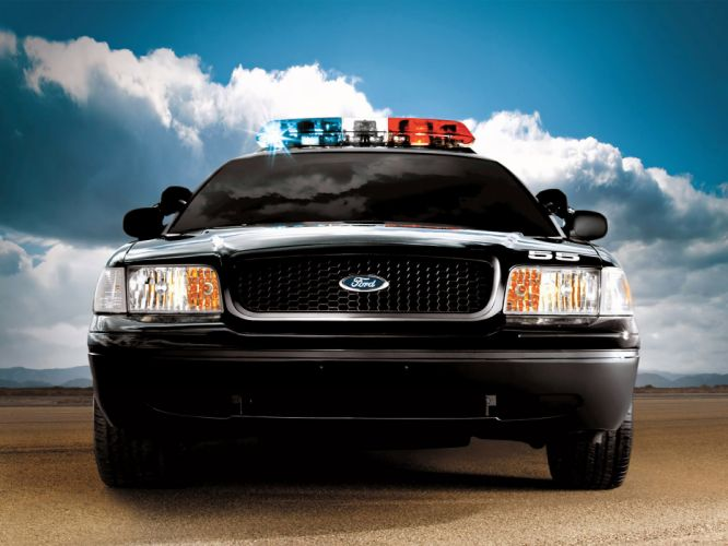 1998 Ford Crown Victoria Police Interceptor muscle wallpaper