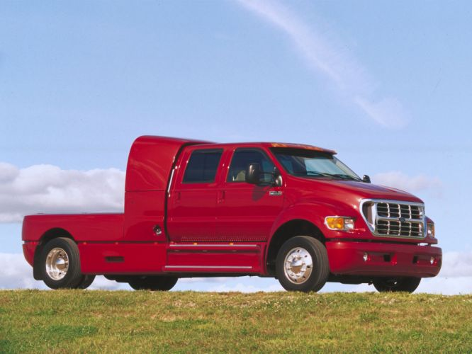 2001 Ford F-650 Super Crewzer truck transport g wallpaper
