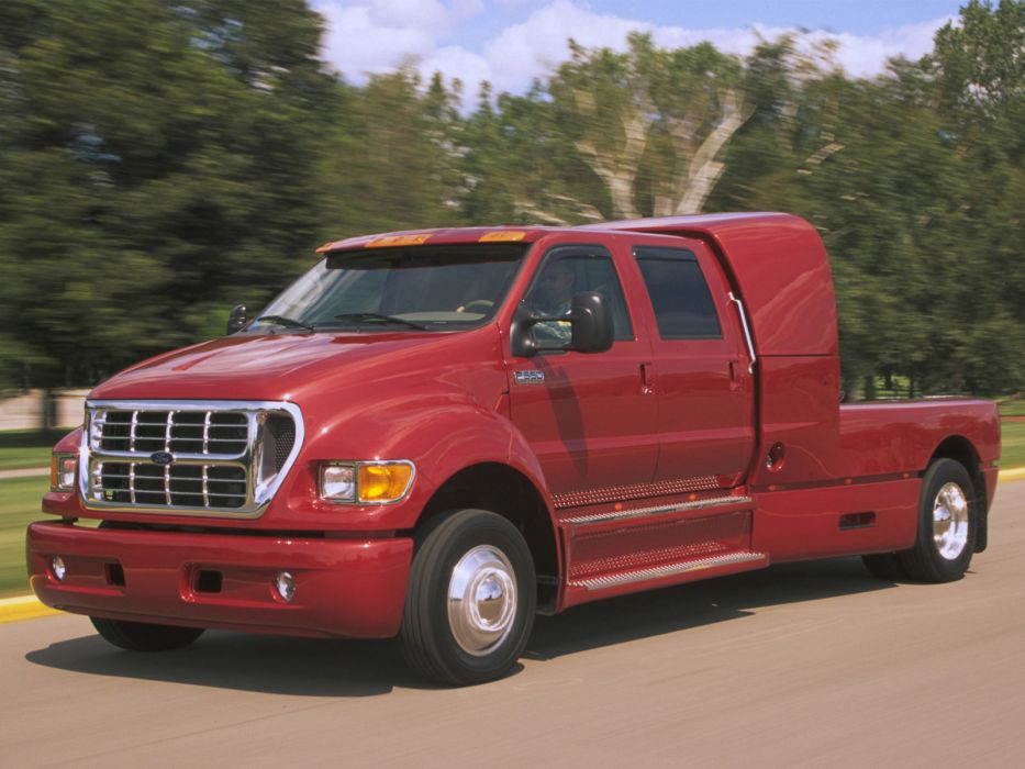 2001 Ford F-650 Super Crewzer truck transport wallpaper