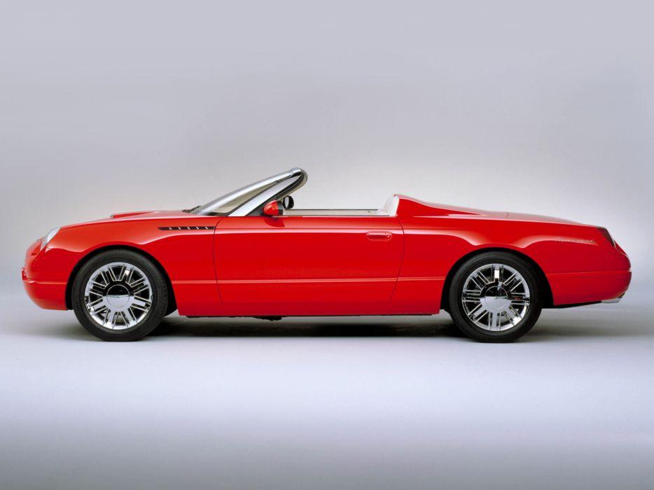 2001 Ford Thunderbird Roadster Concept    g wallpaper