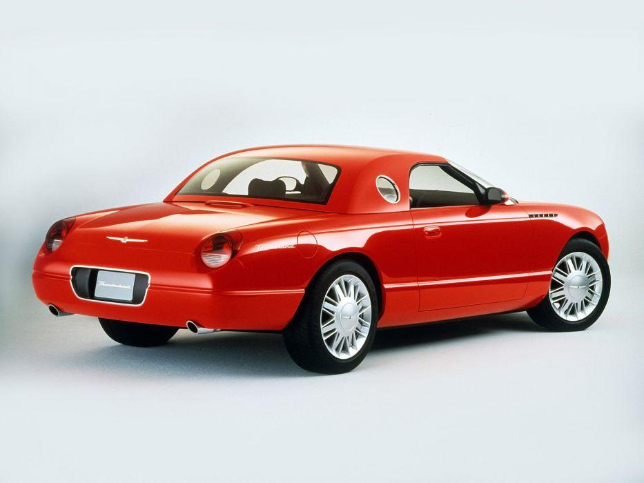 2001 Ford Thunderbird Roadster Concept b wallpaper