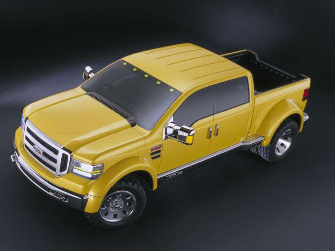 2002 Ford F-350 Tonka Concept Mighty truck 4x4 custom f wallpaper