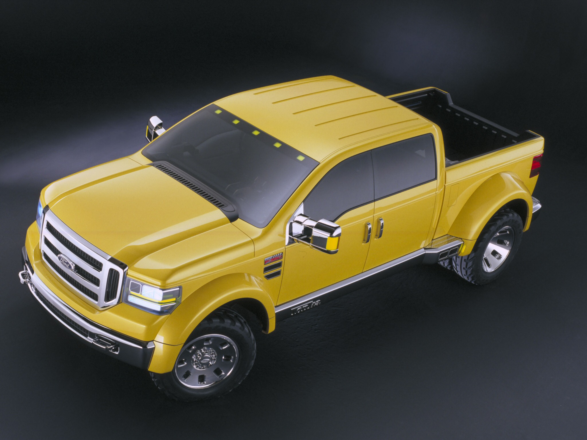 2002 ford f 350 tonka concept mighty truck 4x4 custom f wallpaper - Mighty Ford F 750 Tonka