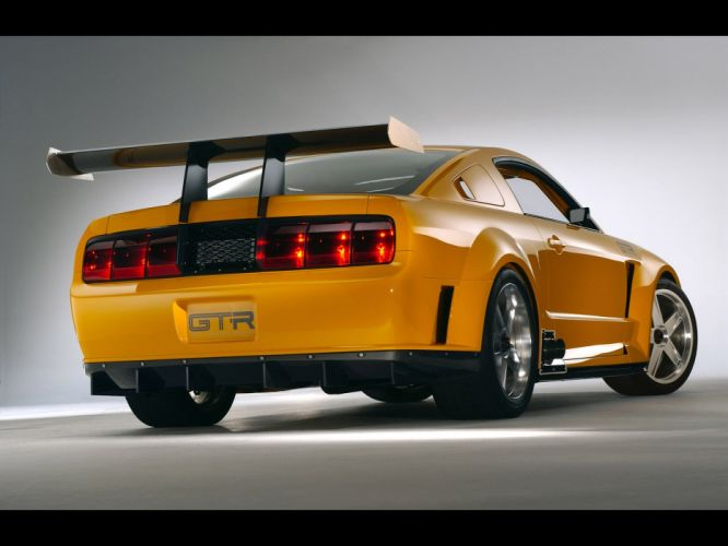 2004 Ford Mustang GT-R Concept muscle supercar supercars f wallpaper