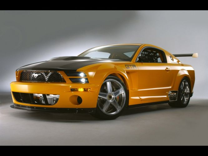 2004 Ford Mustang GT-R Concept muscle supercar supercars dl wallpaper