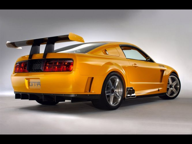 2004 Ford Mustang GT-R Concept muscle supercar supercars d wallpaper