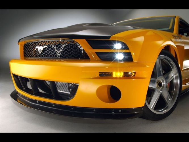 2004 Ford Mustang GT-R Concept muscle supercar supercars ds wallpaper