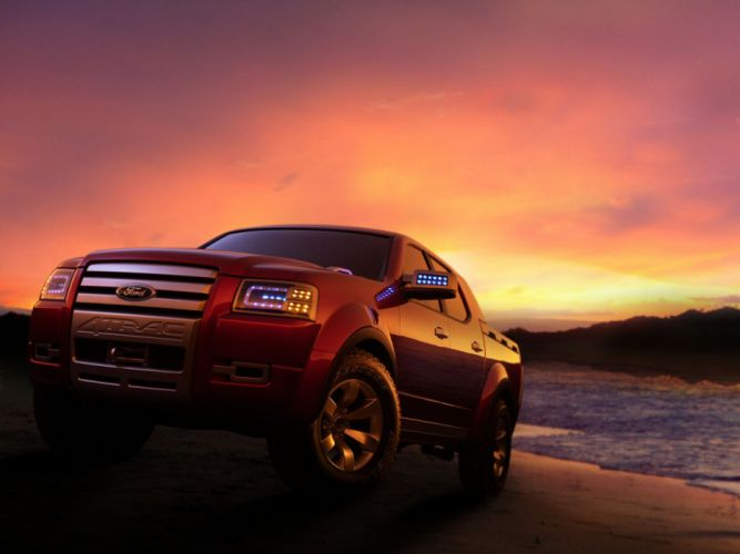 2005 Ford 4Trac Pick-Up Concept truck d wallpaper