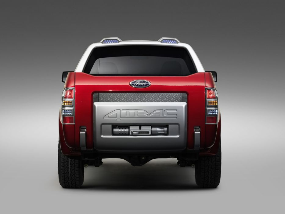2005 Ford 4Trac Pick-Up Concept truck d wallpaper