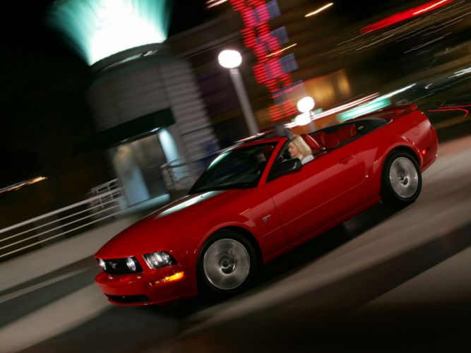 2005 Ford Mustang Cabrio muscle d wallpaper