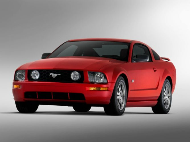 2005 Ford Mustang muscle d wallpaper
