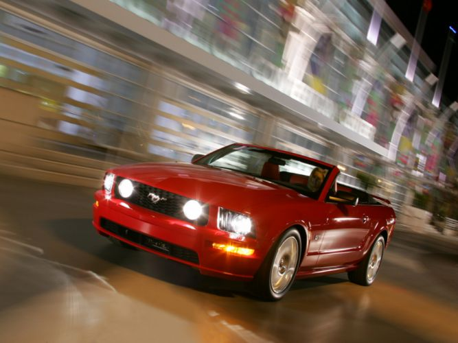 2005 Ford Mustang Cabrio muscle wallpaper