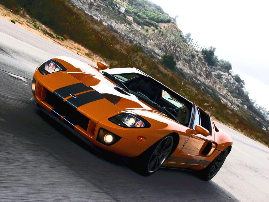 2006 Ford GTX-1 Roadster supercar supercars        fs wallpaper