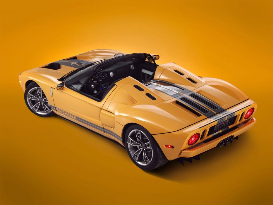 2006 Ford GTX-1 Roadster supercar supercars      f wallpaper