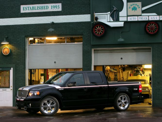 2007 Ford F-150 Foose truck tuning custom muscle fs wallpaper
