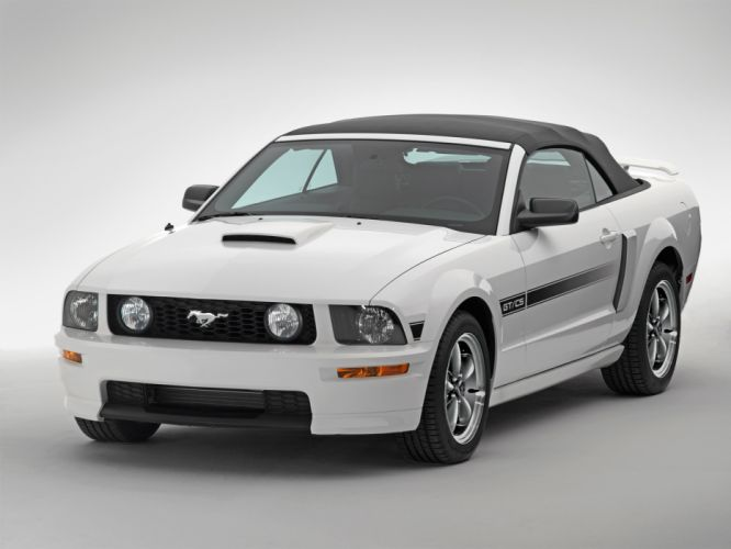 2007 Ford Mustang G-T California Special convertible muscle wallpaper