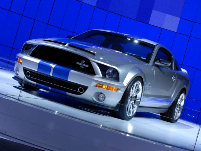 2007 Ford Mustang GT500KR supercar supercars muscle wallpaper