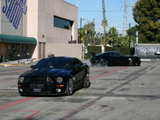 2007 Ford Mustang KITT muscle supercar supercars f wallpaper