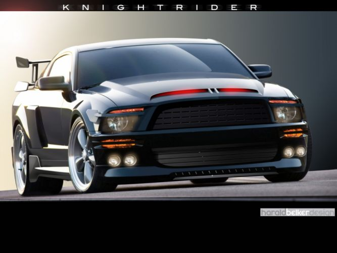 2007 Ford Mustang KITT muscle supercar supercars wallpaper