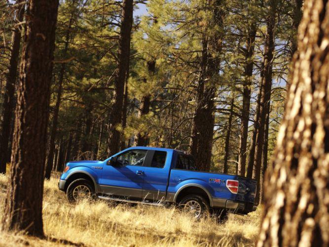 2008 Ford F-150 FX4 4x4 truck d wallpaper