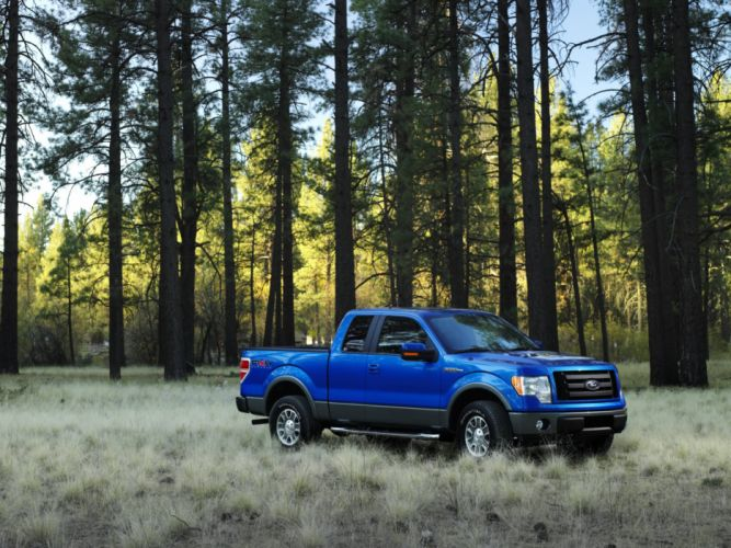 2008 Ford F-150 FX4 4x4 truck c wallpaper
