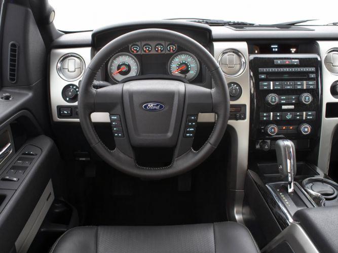 2008 Ford F-150 FX4 4x4 truck interior wallpaper