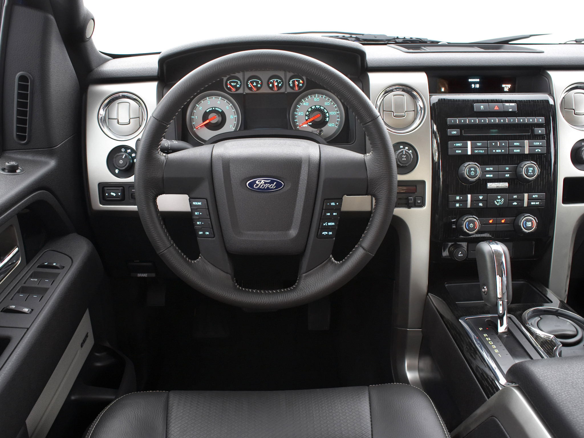 2008 ford f 150 fx4 4x4 truck interior wallpaper
