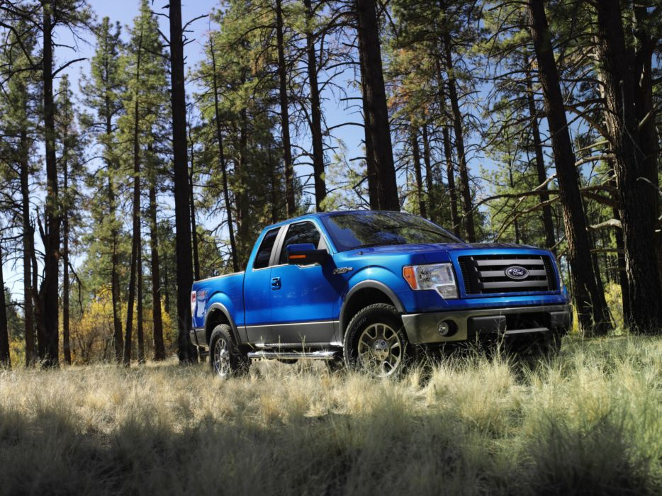 2008 Ford F-150 FX4 4x4 truck wallpaper