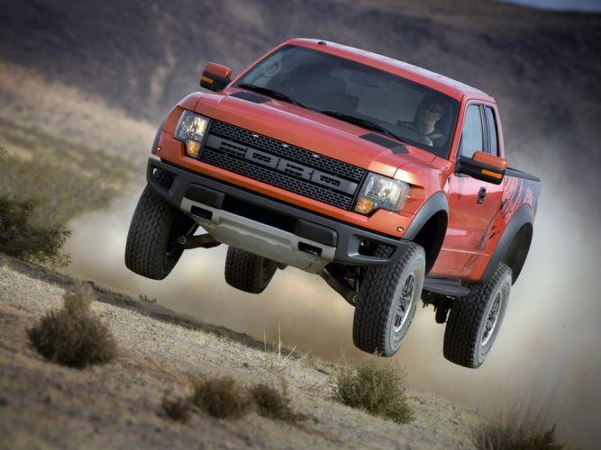 2008 Ford F-150 Raptor SVT 4x4 truck offroad wheel wheels r wallpaper